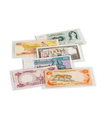 LEUCHTTURM Fundas para billetes BASIC 158. 166X81mm. (50u.).  - 2
