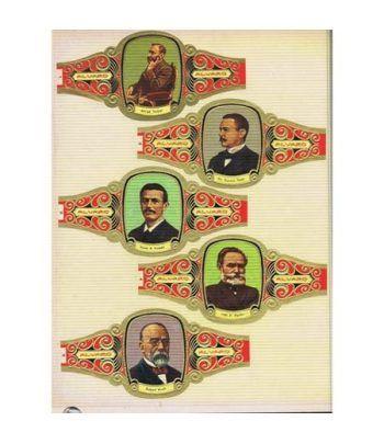 Colección Vitolas Grandes Premios Nobel. 105 vitolas.  - 1