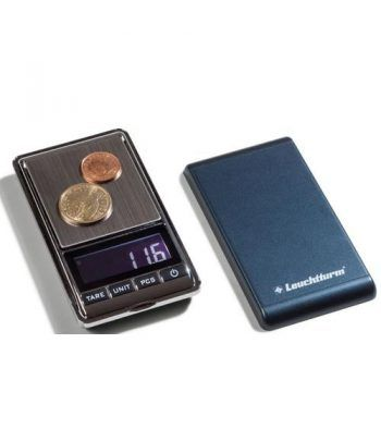 LEUCHTTURM Báscula digital LIBRA 500 para monedas (0,1-500gr).  - 1