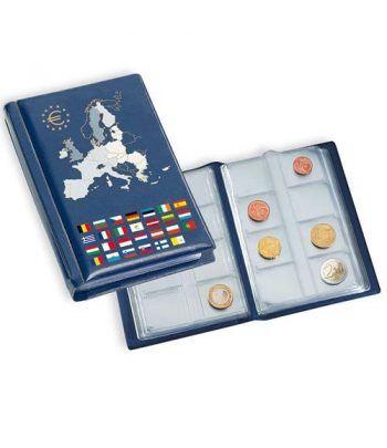 LEUCHTTURM Álbum de bolsillo para 12 series euro. Album Monedas Euro - 2