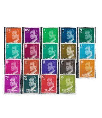 1982/1985 Serie de 19 valores  - 2