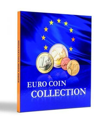 LEUCHTTURM PRESSO Euro Coin Collection (carpeta 25 países) Album Monedas Euro - 1