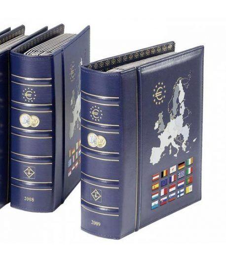 LEUCHTTURM VISTA Album Anual Euro 2015 con cajetín Album Monedas Euro - 2