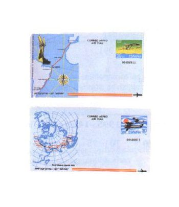 Aerograma 201/202 Año 1981  - 2