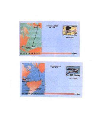 Aerograma 203/204 Año 1982  - 2