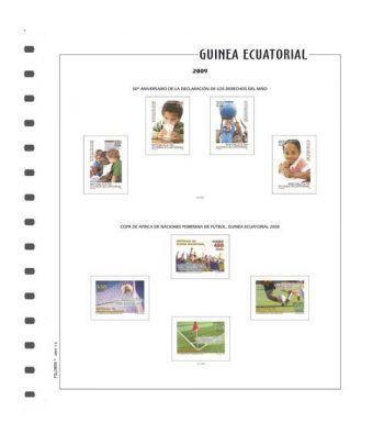 FILOBER Color Guinea 2016 montado con estuches Hojas FILOBER Color - 2