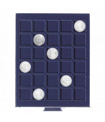 LEUCHTTURM Bandeja SMART para 30 monedas de 33 mm. Bandeja Monedas - 1
