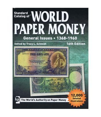 Catalogo billetes mundial WORLD PAPER 1368-1961. Edicion 16. Catalogos Billetes - 2