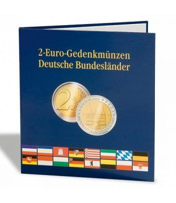 LEUCHTTURM PRESSO Album monedas 2€ Estados Alemania Album Monedas Euro - 1