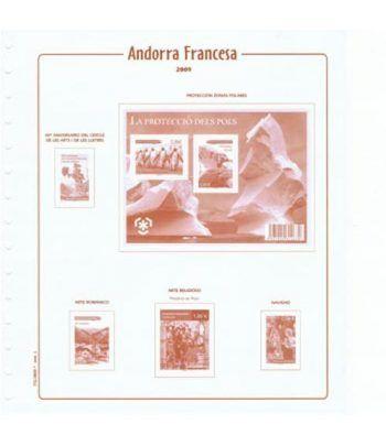 FILOBER Andorra Francesa 2016 (montado con estuches) Hojas FILOBER Cultural - 2