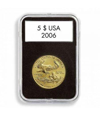 LEUCHTTURM Capsulas QUICKSLAB 37 mm. (5). Capsulas Monedas - 2