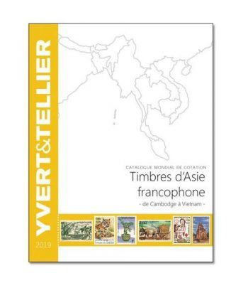 YVERT ET TELLIER Asia-Francofona (Camboya a Vietnam) 2019 Catalogos Filatelia - 2