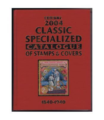 Scott Classic Specialized of Stamps y Covers 1840-1940. Catalogos Filatelia - 2