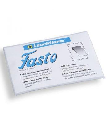 "LEUCHTTURM Fijasellos Charnelas ""Fasto"" 1000 unidades Fijasellos - 2"