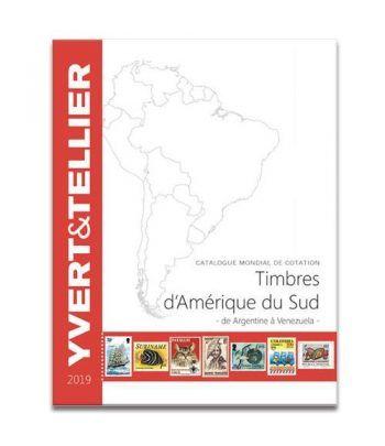 YVERT ET TELLIER América del Sur (Argentina a Venezuela) 2019.  - 2