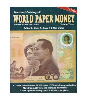 Catalogo billetes mundial WORLD PAPER 1961-2001. Edición 7 Catalogos Billetes - 2