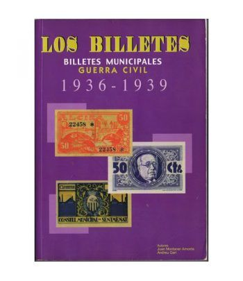Catalogo Billetes municipales Guerra Civil 1936-1939. 1ª Edición Catalogos Billetes - 2