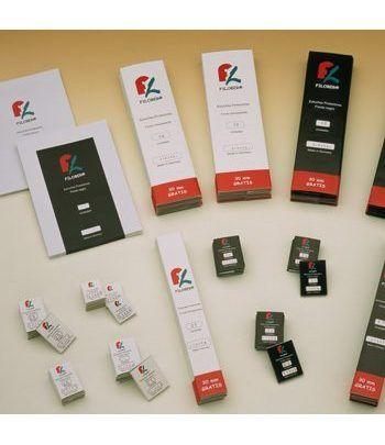 FILOBER 240x36 (paquetes de 25) Estuches protectores sellos - 2