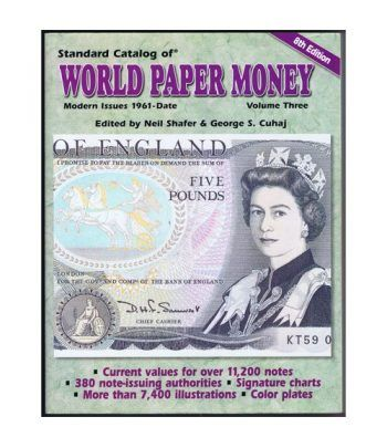 Catalogo billetes mundial WORLD PAPER desde 1961. Edicion 08. Catalogos Billetes - 2