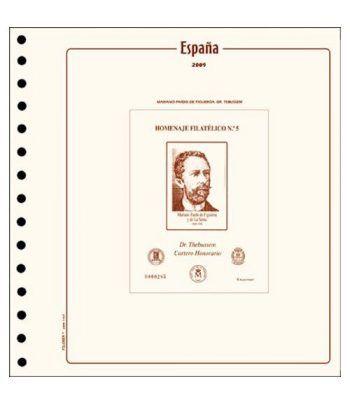 FILOBER ESPAÑA Homenaje Filatélico 2019 sin montar. Hojas FILOBER Cultural - 2