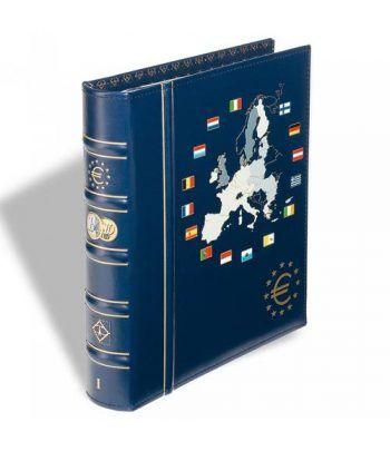 LEUCHTTURM VISTA Album Euro. 6 hojas con cajetin. Tomo I. Album Monedas Euro - 2