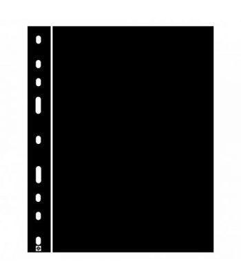 LEUCHTTURM hojas OPTIMA ZWL separadoras negras. Album Monedas - 2
