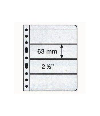 LEUCHTTURM VARIO 5 hojas transparentes con 4 departamentos Album billetes - 2