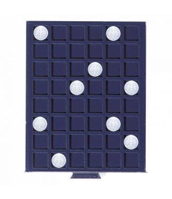 LEUCHTTURM Bandeja SMART para 48 monedas de 24 mm. Bandeja Monedas - 2
