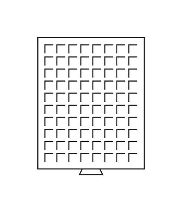 LEUCHTTURM Bandejas MB (236x303) 80 monedas hasta 24 mm. Bandeja Monedas - 1