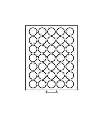 LEUCHTTURM Bandejas MB (236x303) 35 monedas CAPS 29 Bandeja Monedas - 1