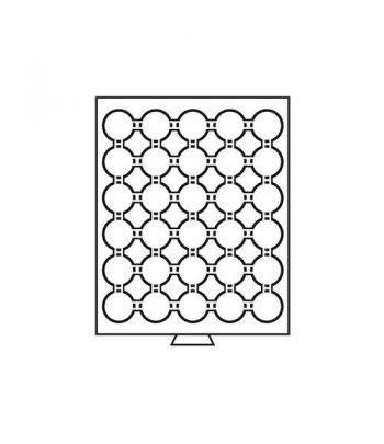 LEUCHTTURM Bandejas MB (236x303) 30 monedas CAPS 33 Bandeja Monedas - 1