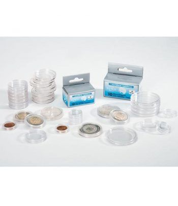 LEUCHTTURM Capsulas para monedas 28 mm. (10 unidades) Capsulas Monedas - 2