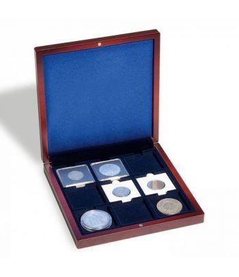 LEUCHTTURM Estuche VOLTERRA para 9 monedas 50 x 50. Estuche Monedas - 1