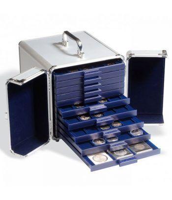 LEUCHTTURM Maletin CARGO S 10 para 10 bandejas SMART Maletines monedas - 2