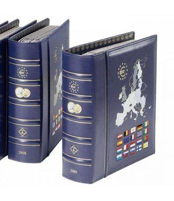 LEUCHTTURM 363165 Album Vista Euro Anual 2021 con cajetín Album Monedas Euro - 2