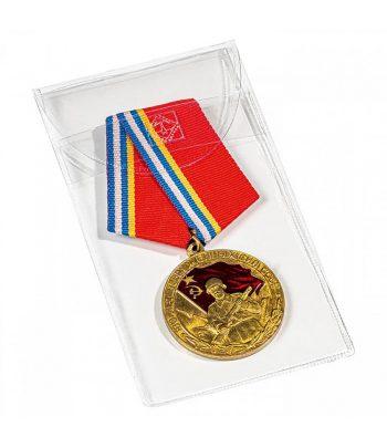 LEUCHTTURM Bolsa protectora para medallas y condecoraciones 60 x 110 mm  - 1