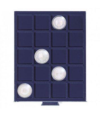 LEUCHTTURM Bandeja SMART para 20 monedas de 41 mm. Bandeja Monedas - 2