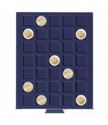 LEUCHTTURM Bandeja SMART para 35 monedas de 27 mm. Bandeja Monedas - 2