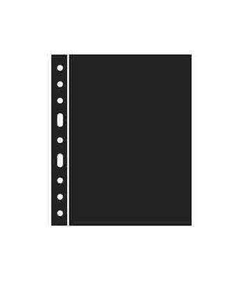 LEUCHTTURM GRANDE 5 hojas separadoras negras Album billetes - 2