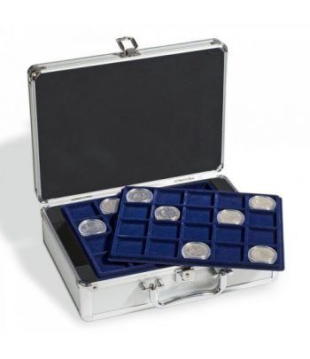 LEUCHTTURM Maletín CARGO S6 para 10€ en CAPS con 6 bandejas Maletines monedas - 1