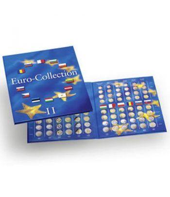 LEUCHTTURM PRESSO Eurocollection II. Carpeta 12 países Album Monedas Euro - 1
