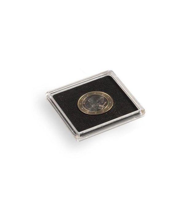LEUCHTTURM Capsulas QUADRUM 33mm. (10) Capsulas Monedas - 1