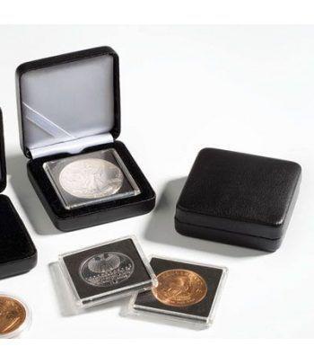 Estuche monedas metal NOBILE para capsula redonda 34mm. Estuche Monedas - 2