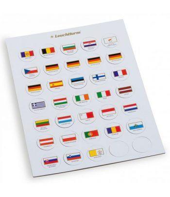 LEUCHTTURM Fichas de Banderas EURO. CAPS26 Accesorios varios - 1
