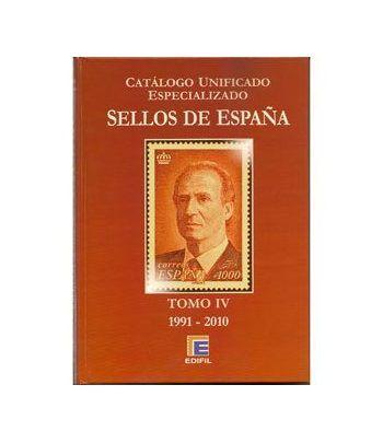 EDIFIL España S.Roja ed.2010 especializado Tomo IV (1991/2010) Catalogos Filatelia - 2