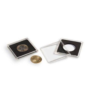 LEUCHTTURM Capsulas QUADRUM 24mm. (10) . Capsulas Monedas - 2