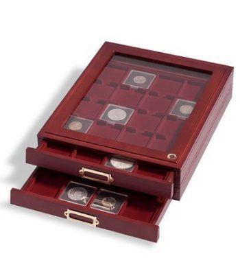 LEUCHTTURM Capsulas QUADRUM 24mm. (10) . Capsulas Monedas - 4