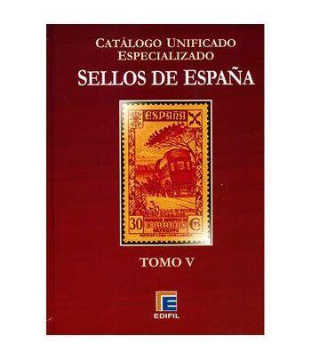 EDIFIL España S.Roja ed.2011 especializado Tomo V. Barcelona... Catalogos Filatelia - 2