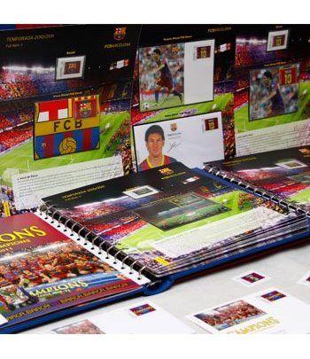 Colección Filatélica Oficial F.C. Barcelona. Completa.  - 1