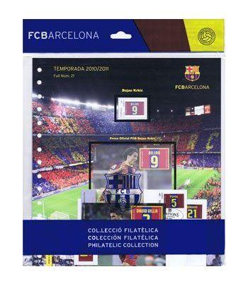 Colección Filatélica Oficial F.C. Barcelona. Pack nº07.  - 1